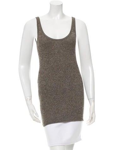 Prada Sleeveless Knit Top None