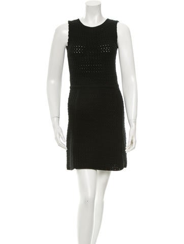 Prada Cashmere & Silk-Blend Dress None