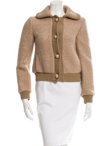 Prada Virgin Wool & Mohair-Blend Jacket None
