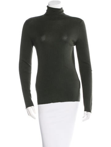Prada Long Sleeve Turtleneck Sweater None