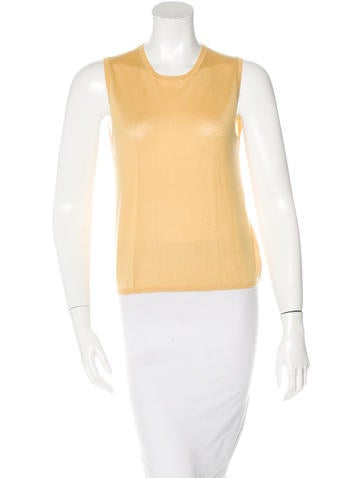Prada Cashmere & Silk-Blend Top None