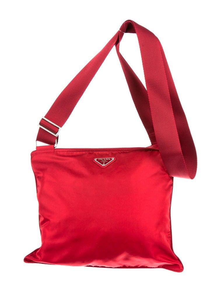 brown prada handbags - prada nylon crossbody bag