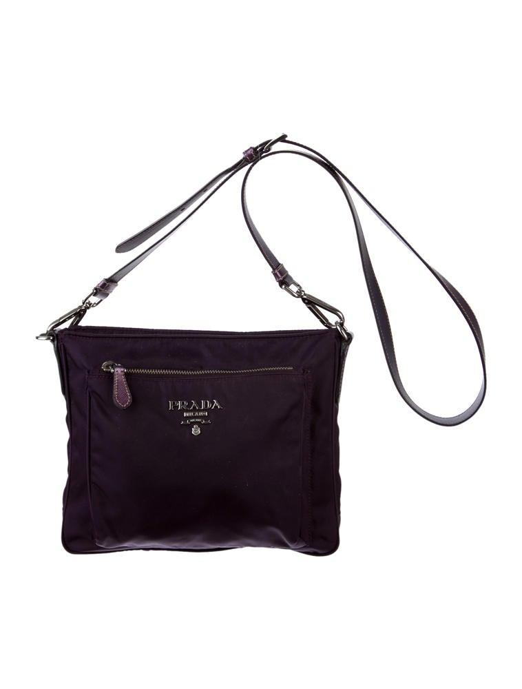f99440b520 Prada Tessuto Crossbody Bag - Handbags - PRA24967