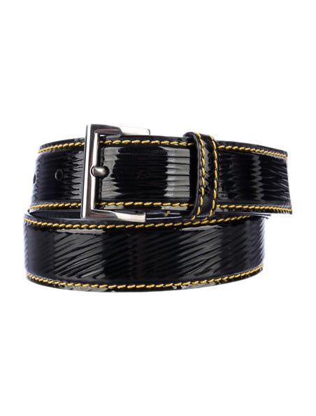 Prada Patent Leather Belt - Accessories - PRA25813 | The RealReal