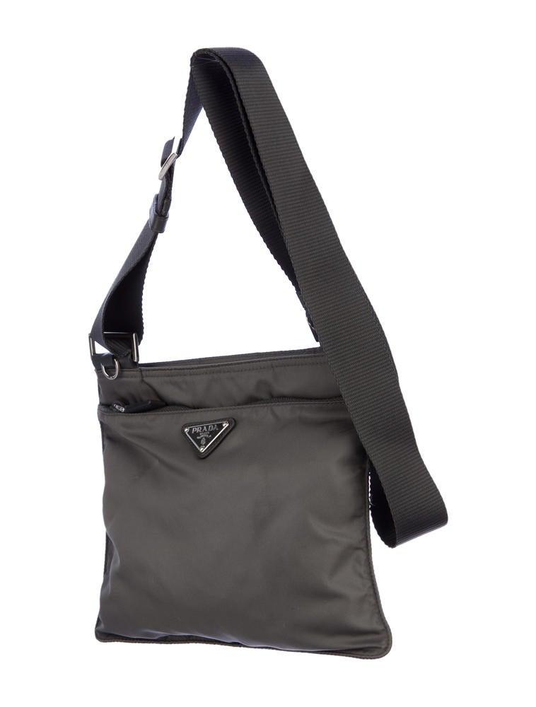 yellow prada wallet - Prada Vela Crossbody Bag - Handbags - PRA29747 | The RealReal