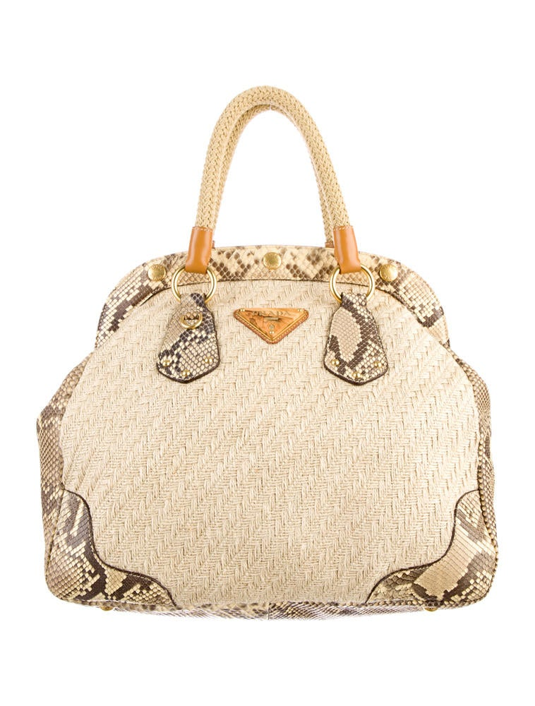 Prada Juta Laminata and Cinghiale Bag - Handbags - PRA30648 | The ...