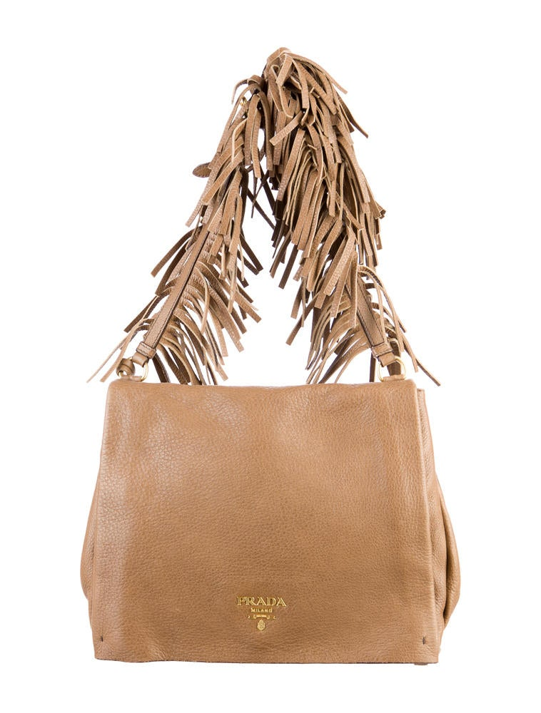 Prada Fringe Crossbody Bag - Handbags - PRA35085 | The RealReal