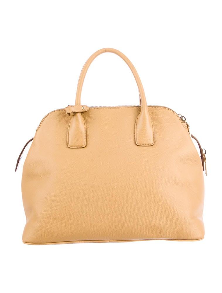 prada nylon handbags sale - Prada Saffiano Cuir Triple-Zip Tote - Handbags - PRA35125   The ...