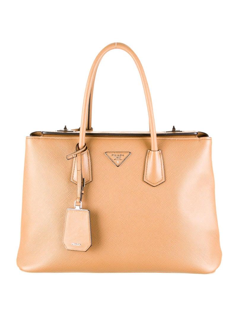 prada saffiano three pockets bag