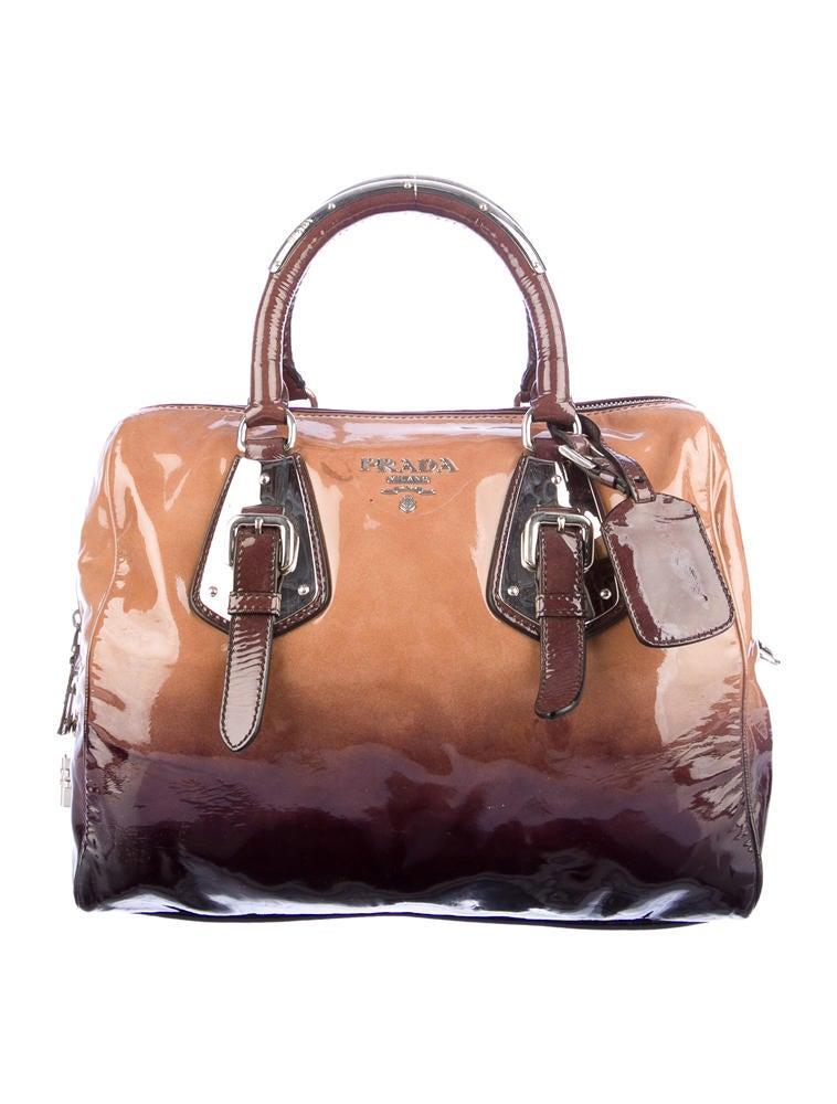 Prada Ombre Bowler Bag - Handbags - PRA35855 | The RealReal