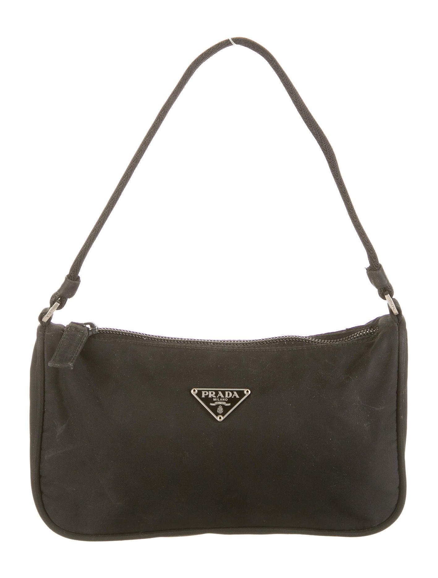 Prada Tessuto Mini Bag - Handbags - PRA41056 | The RealReal