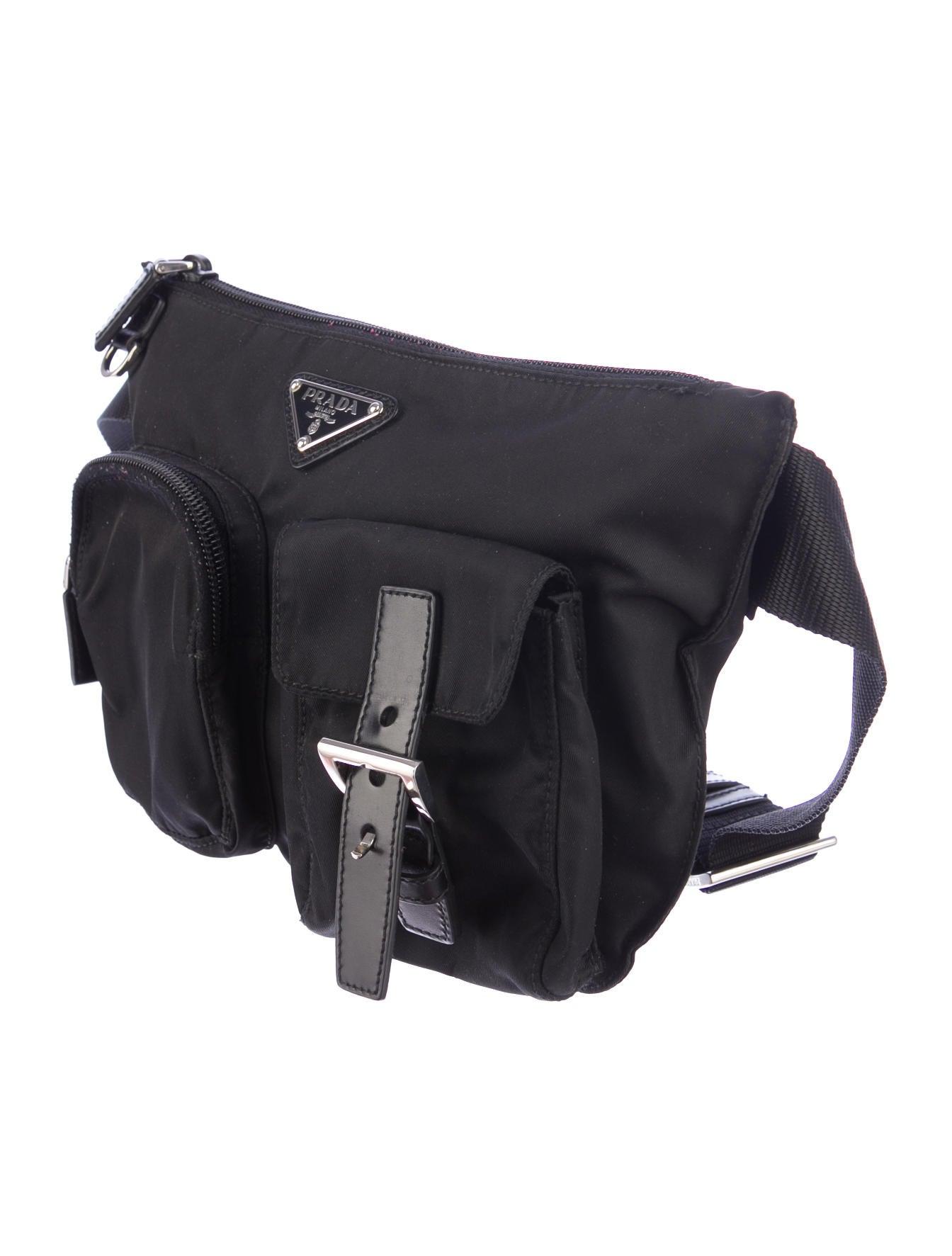 original prada bag - Prada Vela Belt Bag - Handbags - PRA48787 | The RealReal