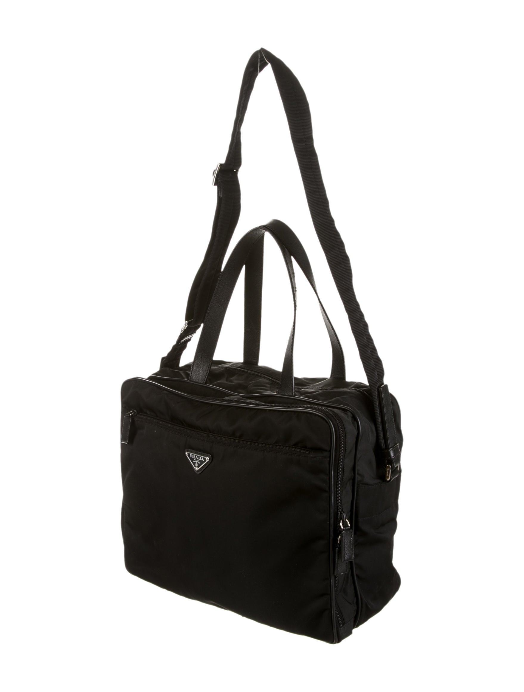 prada pink backpack - Prada Tessuto Baby Bag - Handbags - PRA56855 | The RealReal