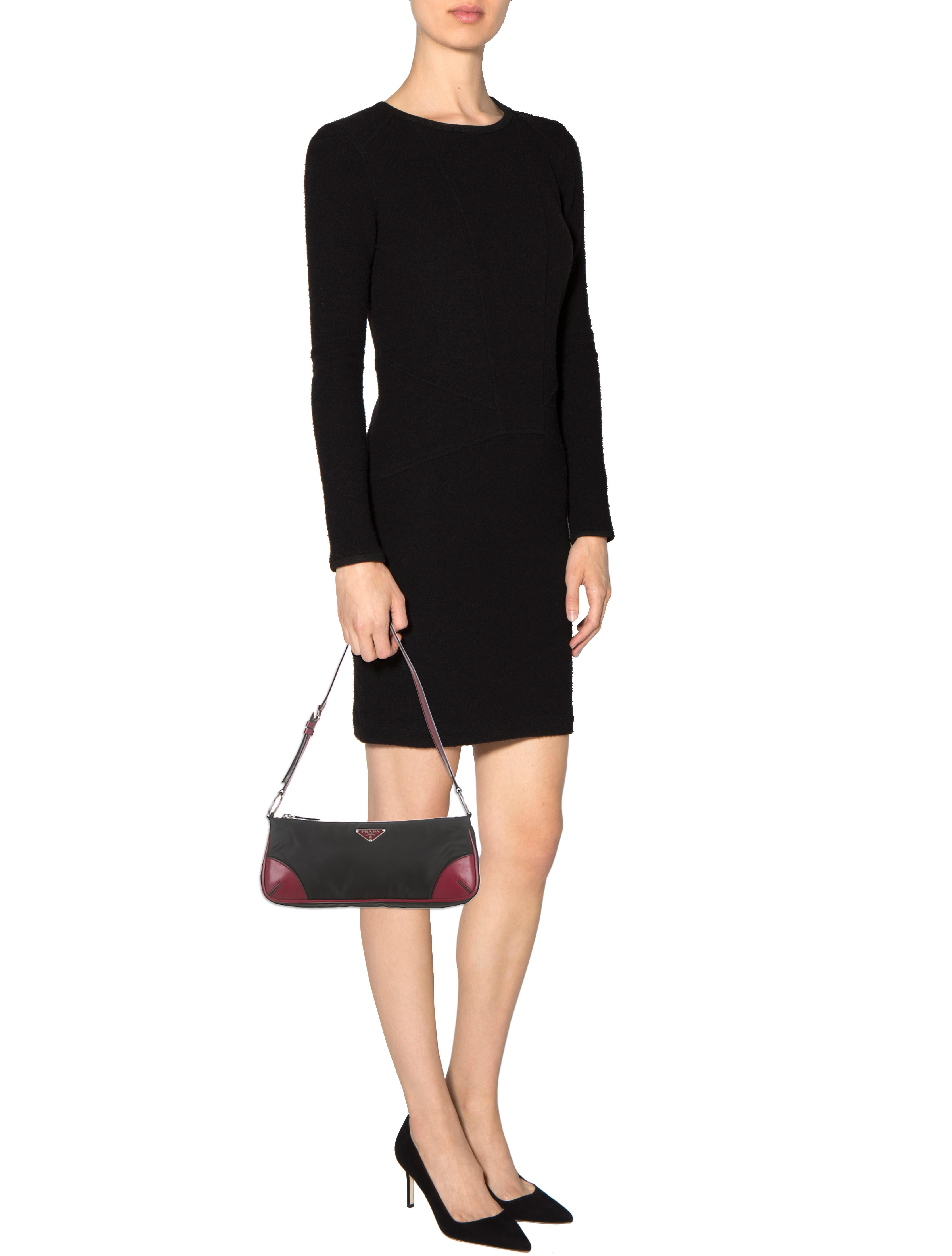 Prada Tessuto Pochette - Handbags - PRA57717 | The RealReal