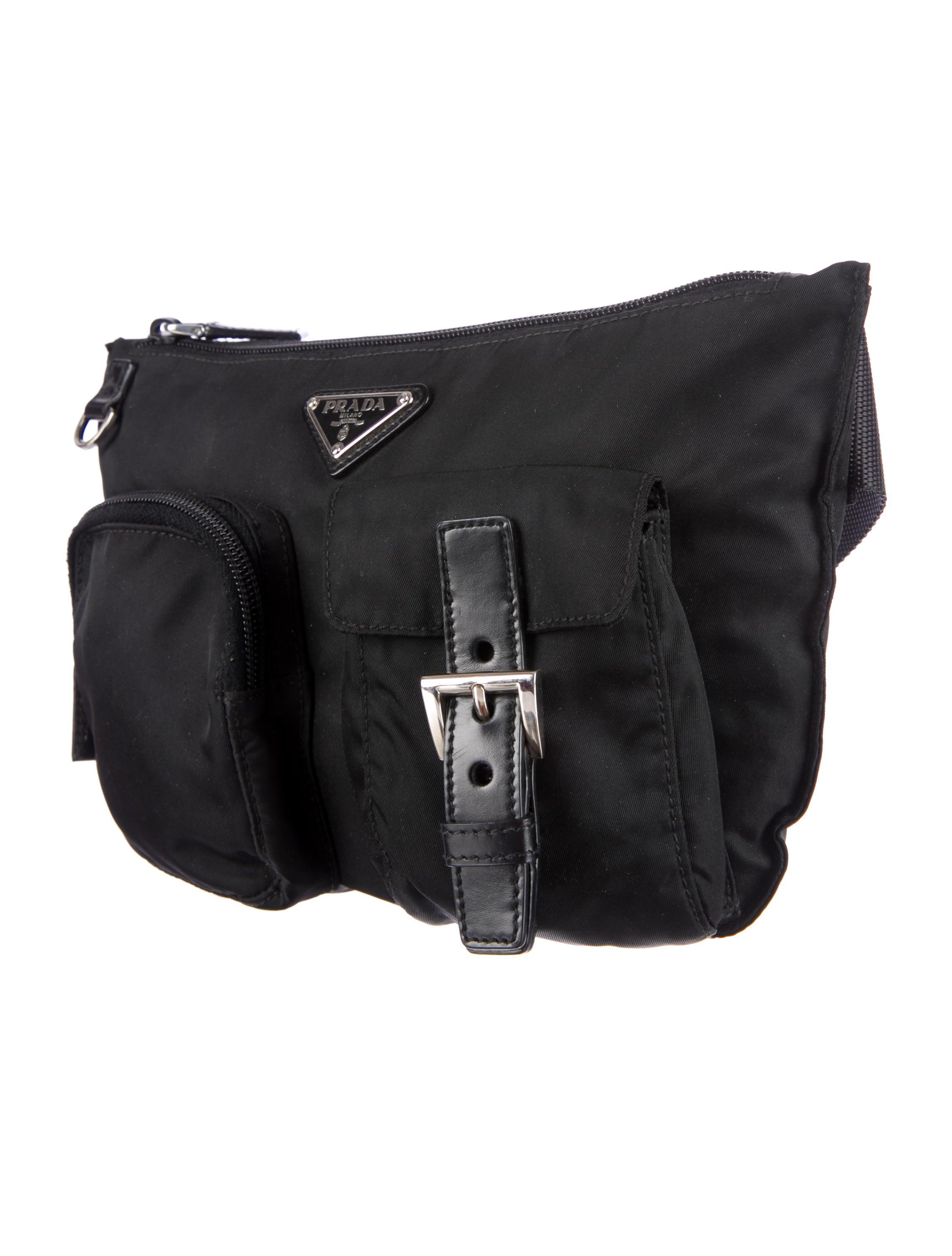 prada real or fake - Prada Tessuto Waist Bag - Mens Bags - PRA58486 | The RealReal