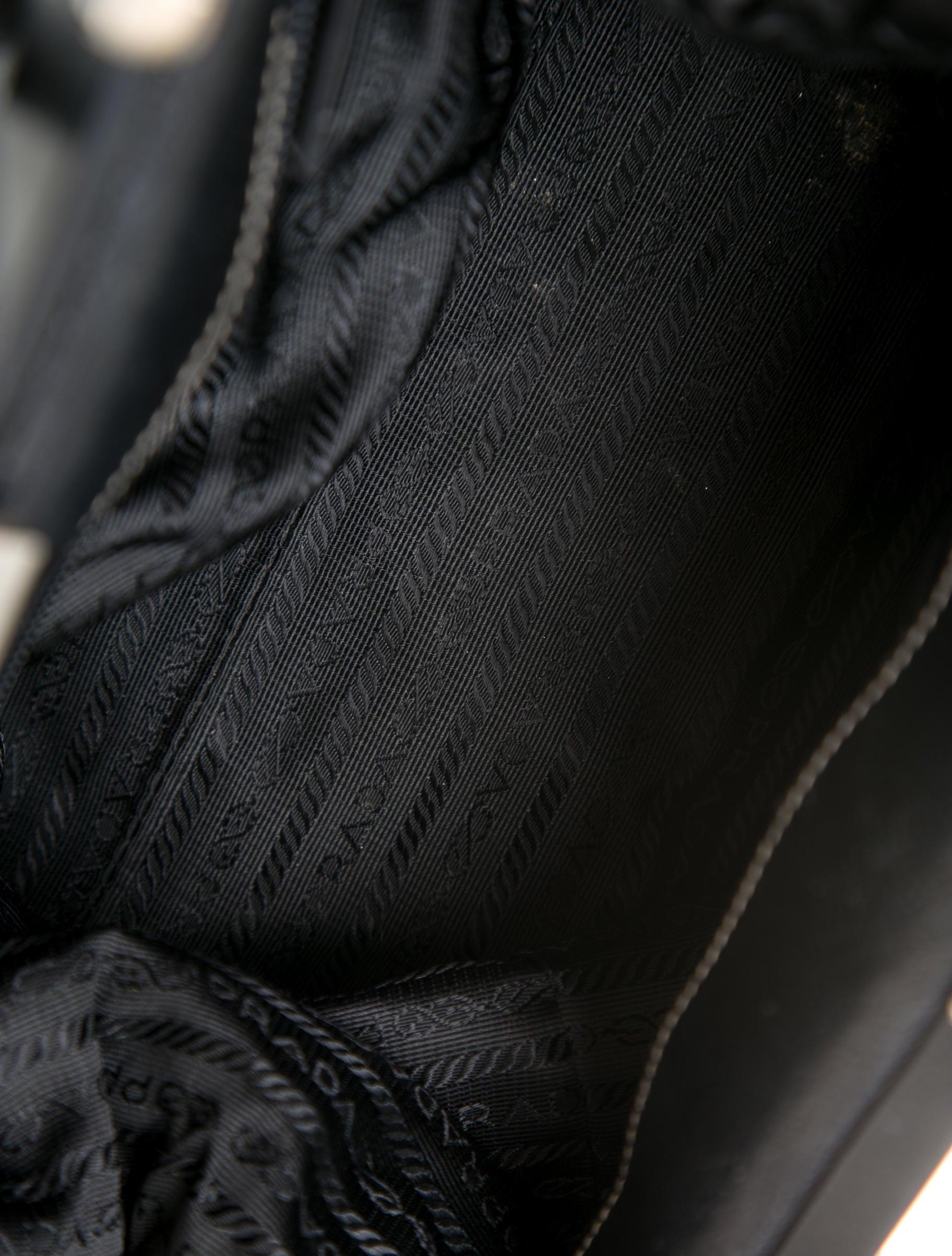 Prada Madras Cerniera Doctor Bag - Handbags - PRA58547   The RealReal