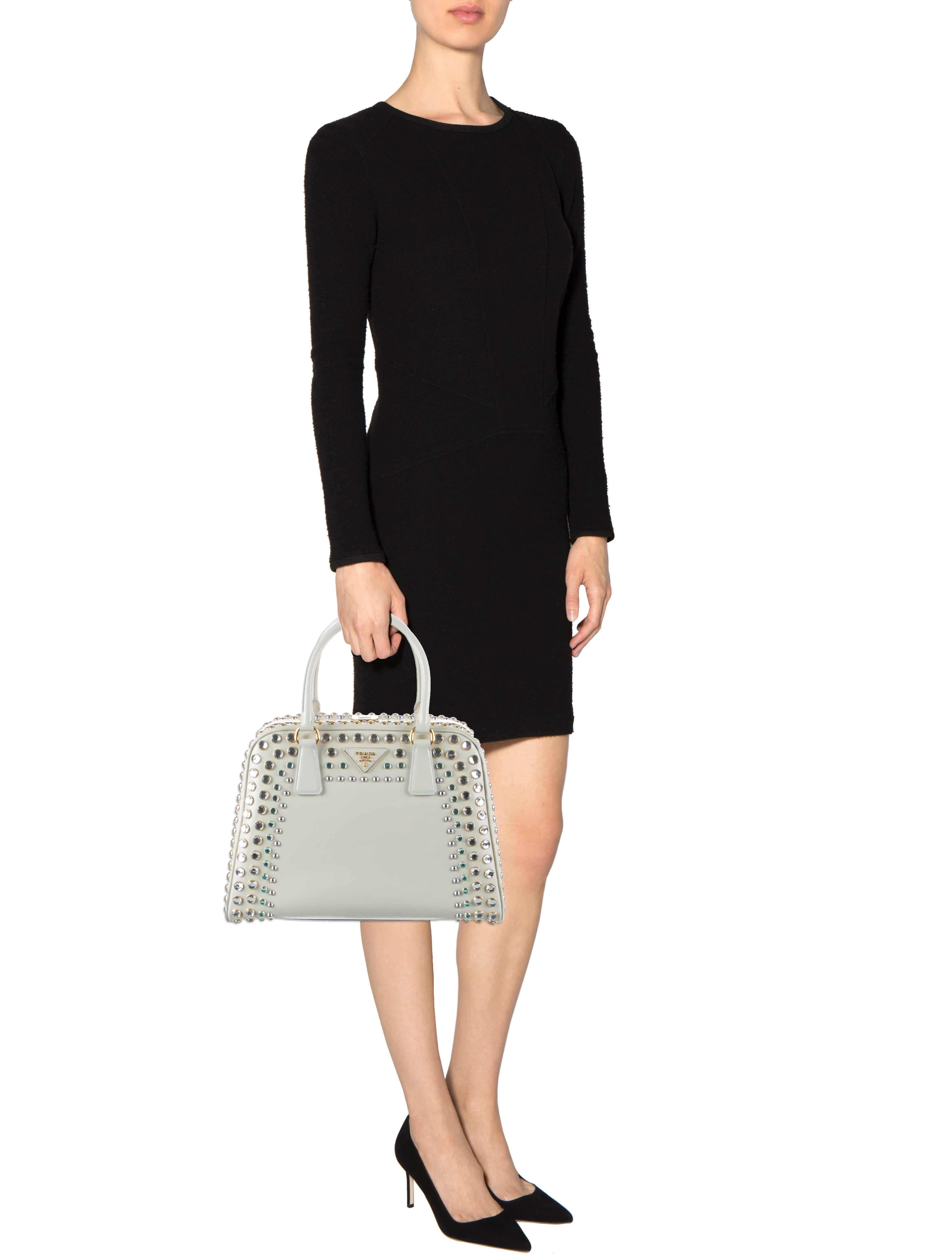 Prada Borsa Cerniera Pyramid Bag - Handbags - PRA59763 | The RealReal