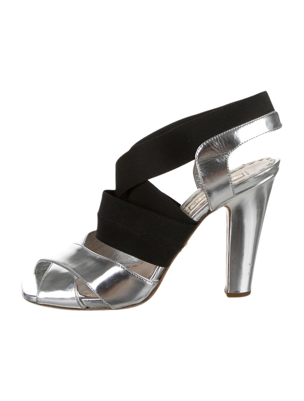 Wonderful Prada Leather Multistrap Sandals  Shoes  PRA82724  The RealReal