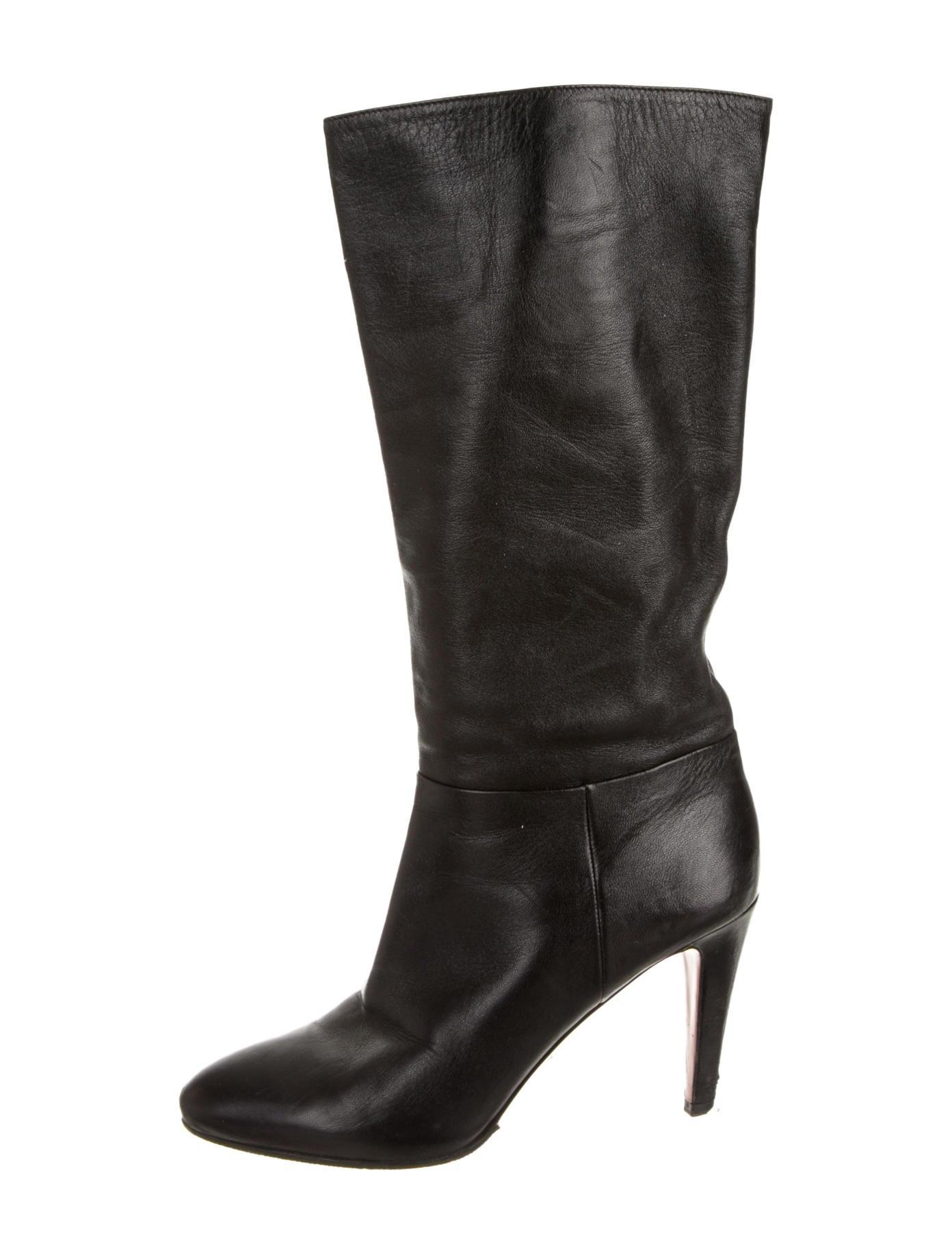 Prada Boots - Shoes - PRA62078 | The RealReal