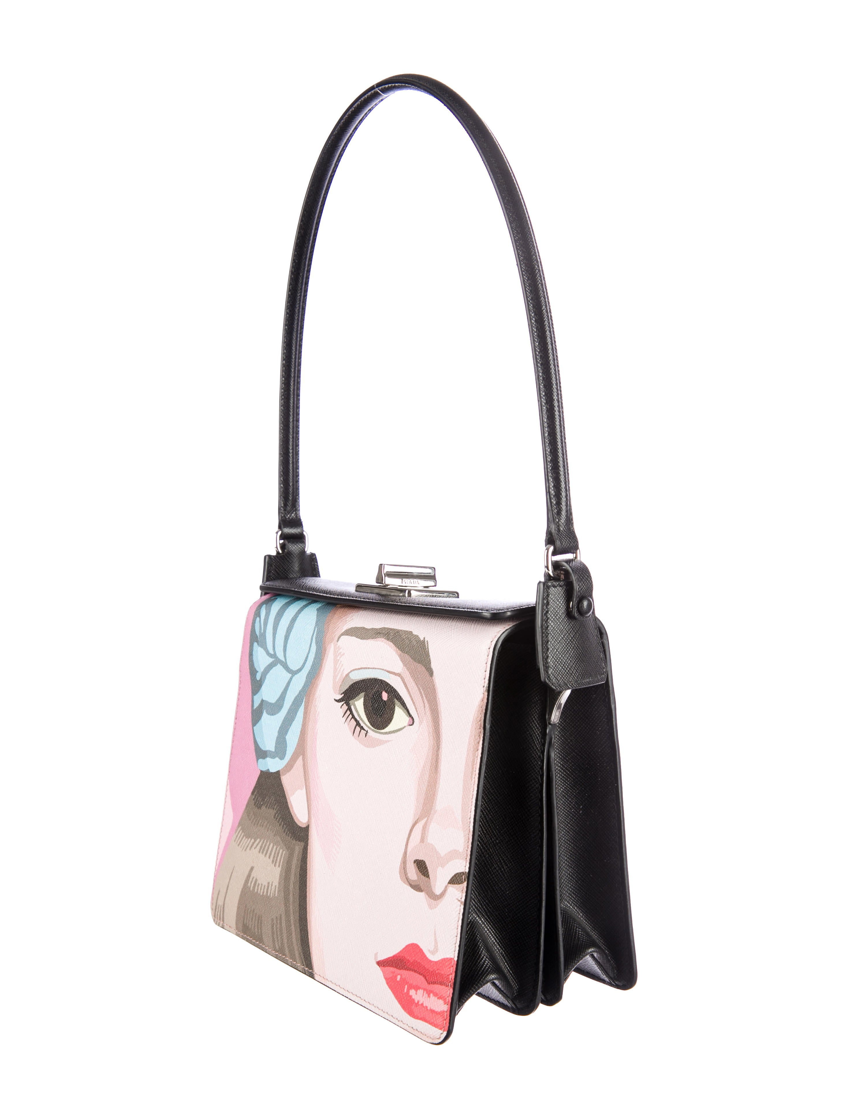 New Prada Women Saffiano Leather Tote | All Handbag Fashion