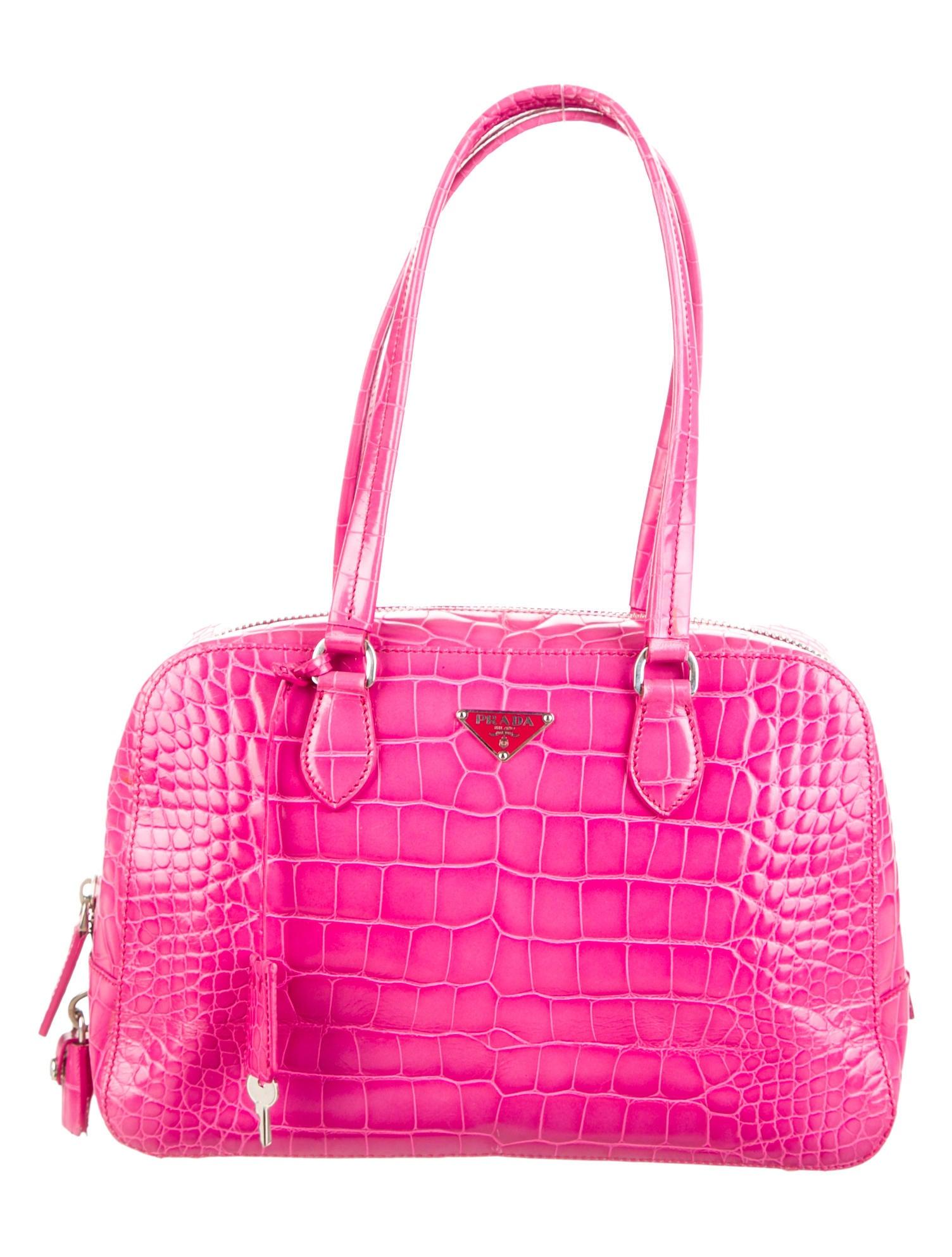 Prada St. Cocco Lucido Bauletto Bag - Handbags - PRA63889 | The ...