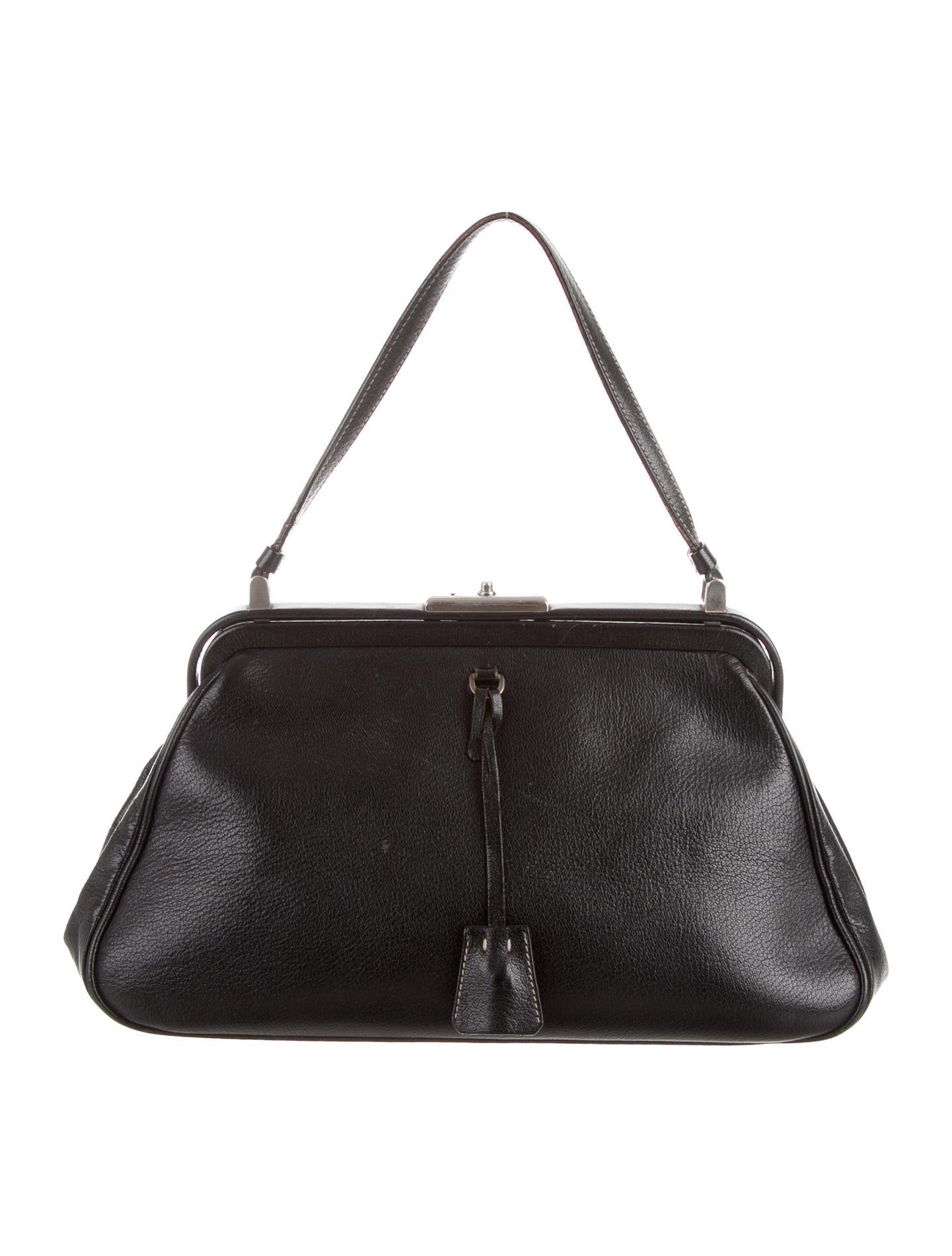 cuir handbags - prada madras handle bag, identical replica handbags