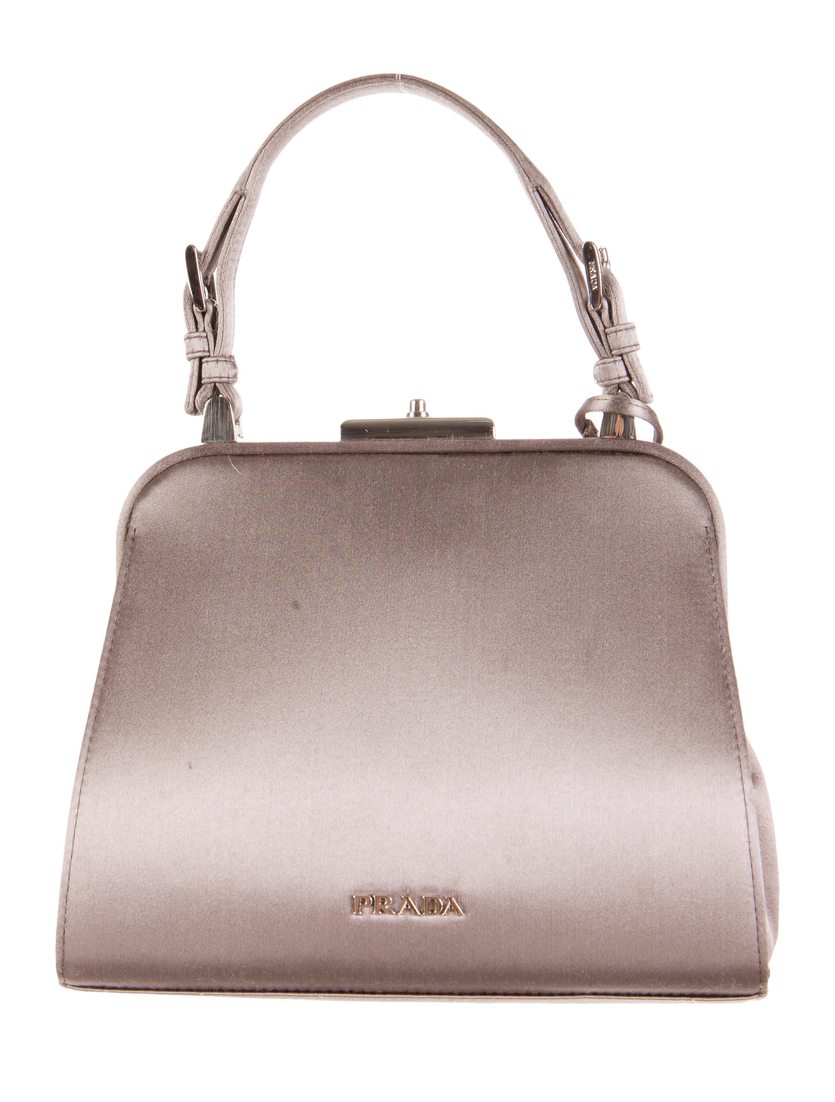 Prada Raso Stones Evening Bag - Handbags - PRA69332 | The RealReal