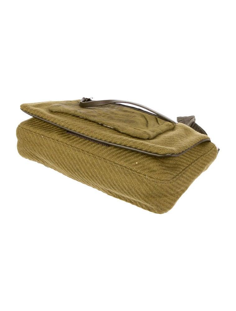 prada mini saffiano lux tote bag - Prada Knit Shoulder Bag - Handbags - PRA71257   The RealReal