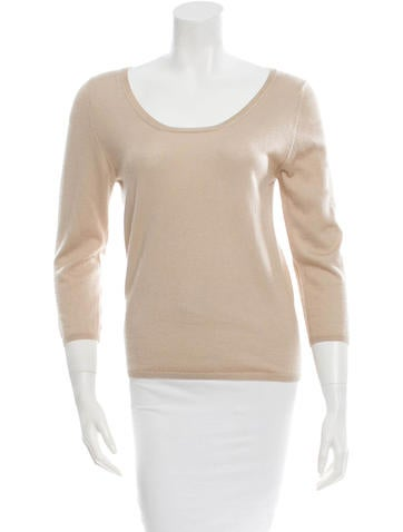 Prada Cashmere Knit Top None