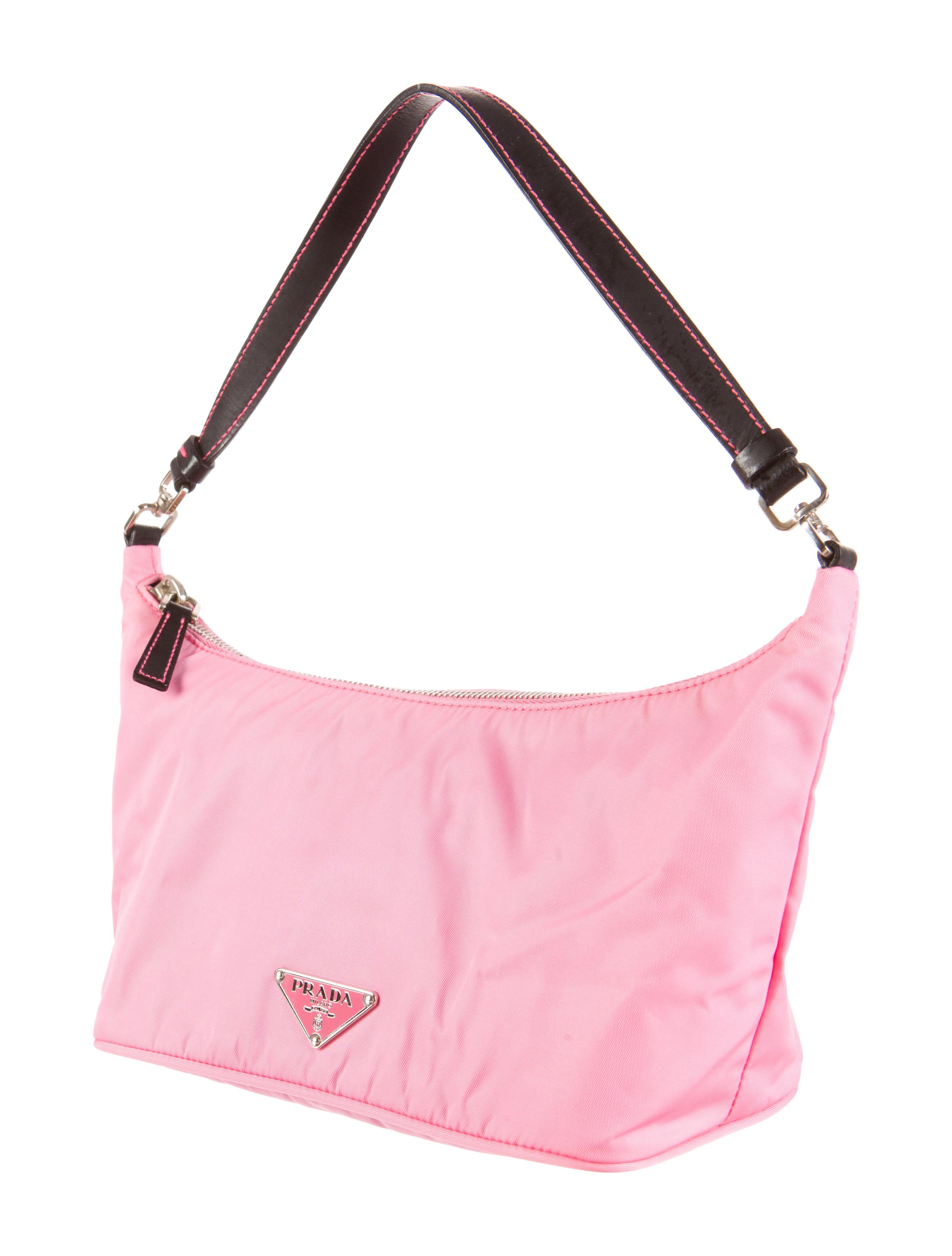 prada tessuto small handle bag