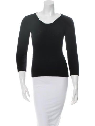 Prada Wool Long Sleeve Top None