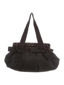 red and black prada bag - Prada Embellished Evening Bag - Handbags - PRA75381 | The RealReal