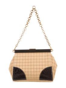 Gucci Suede Horsebit Shoulder Bag - Handbags - GUC75071   The RealReal