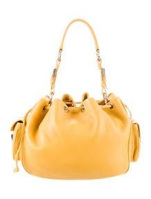 Prada Drawstring Shoulder Bag - Handbags - PRA78251   The RealReal