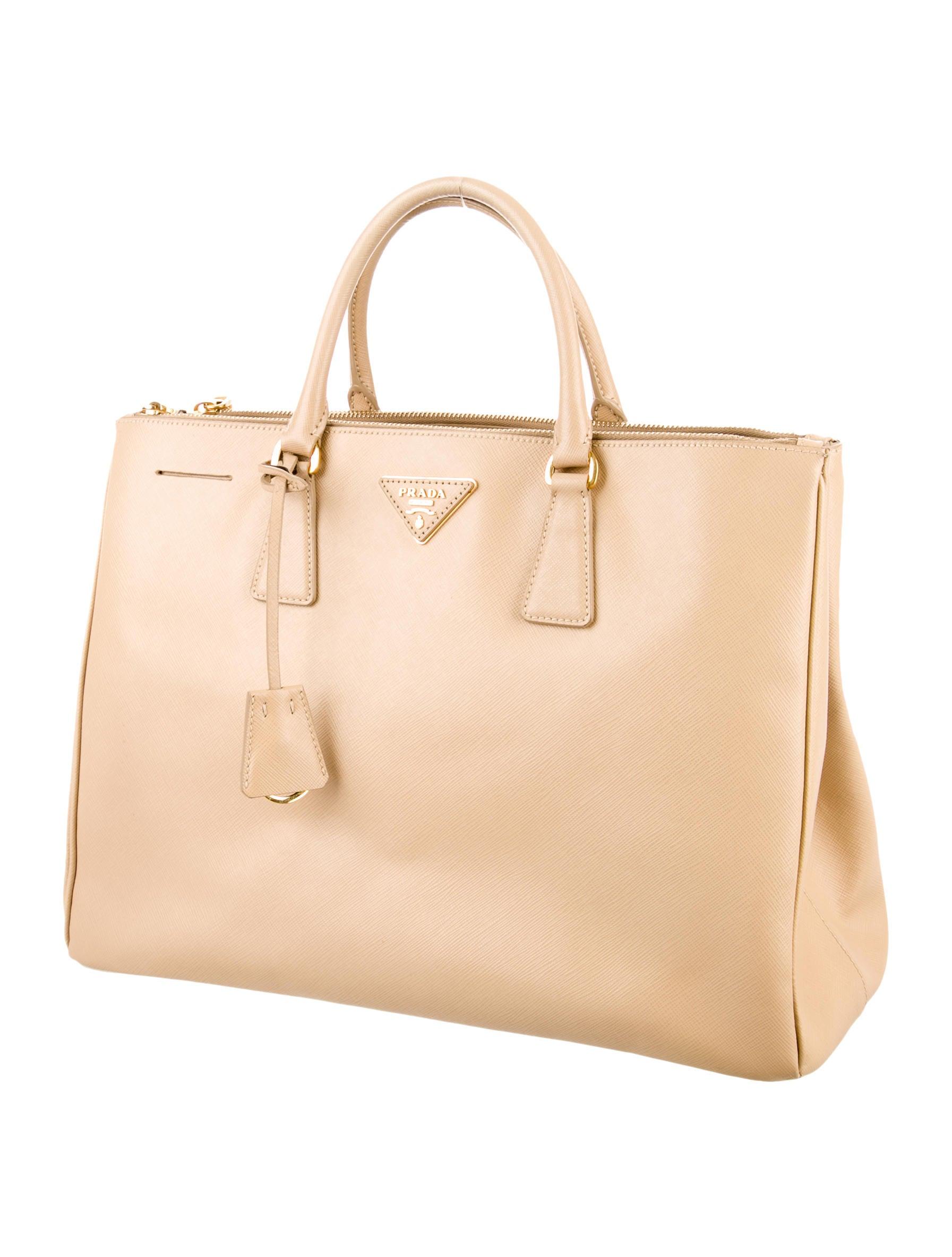 is my prada bag authentic - Prada Medium Saffiano Lux Double-Zip Tote - Handbags - PRA81116 ...
