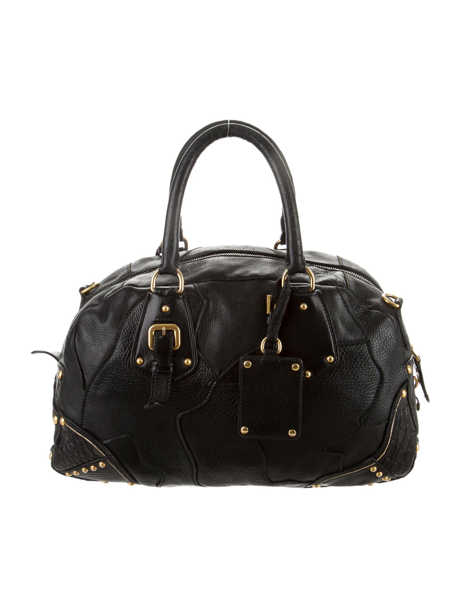 Prada Fringe Satchel - Handbags - PRA81588 | The RealReal