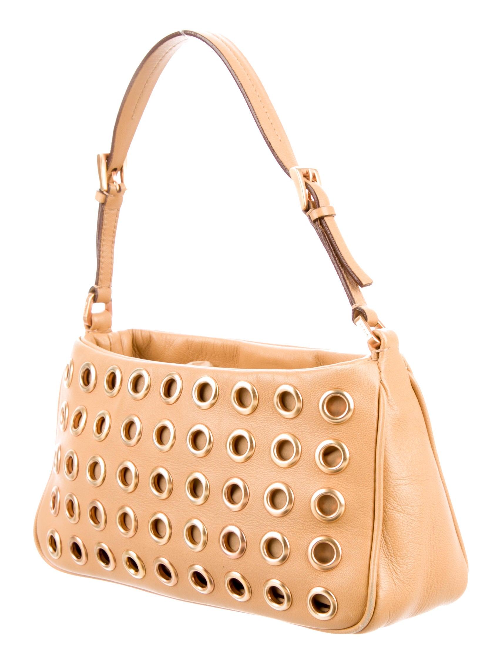 prada messenger bag black - prada nappa mini pochette, prada brown leather wallet