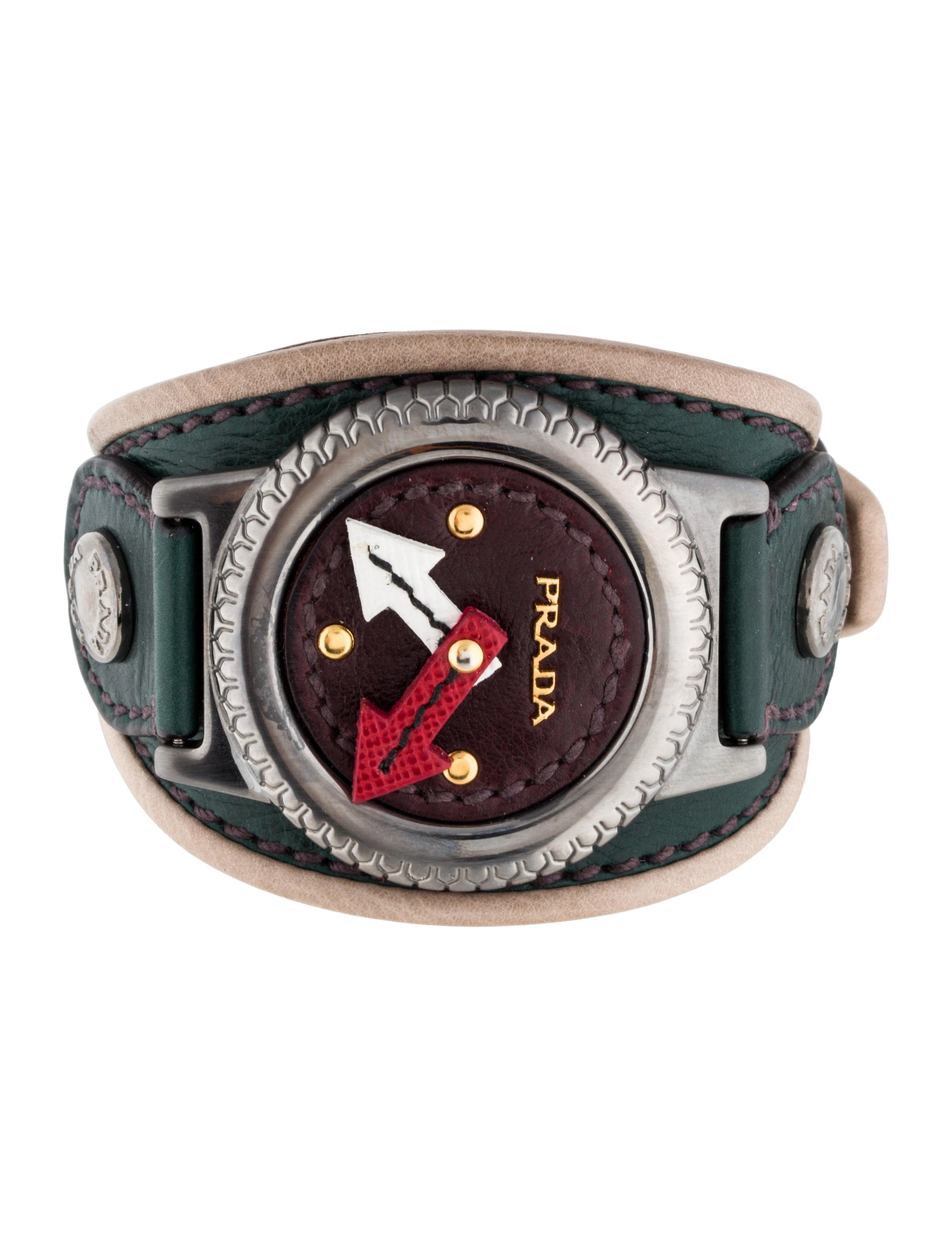 prada bracelet jewelry pra82578 the realreal