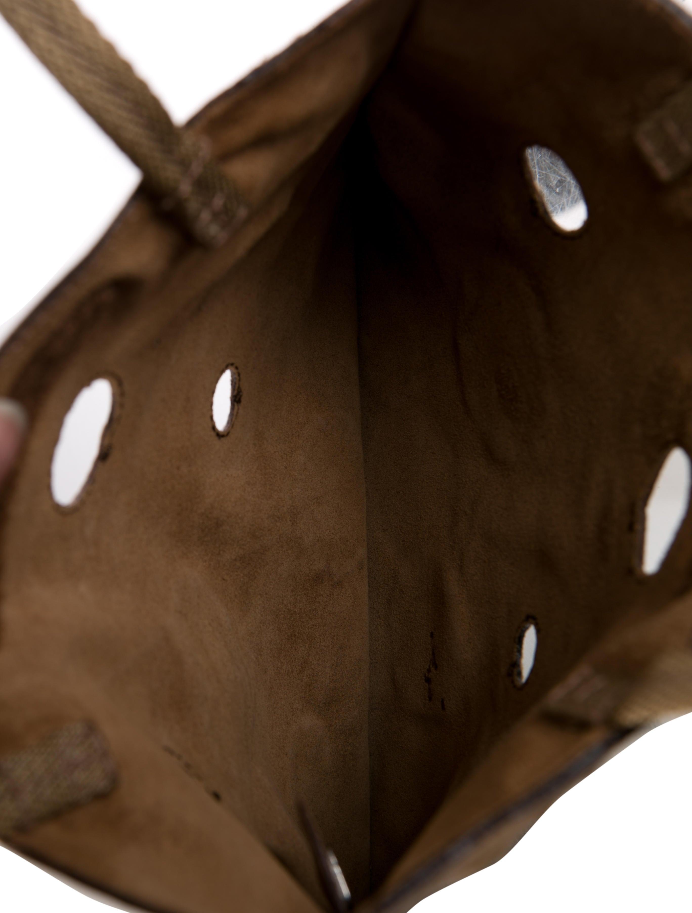 blue and grey pradas - Prada Leather Reflective Handle Bag - Handbags - PRA83133 | The ...
