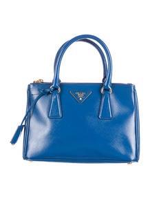 Prada Saffiano Lux Extra Large Double Zip Tote - Handbags ...