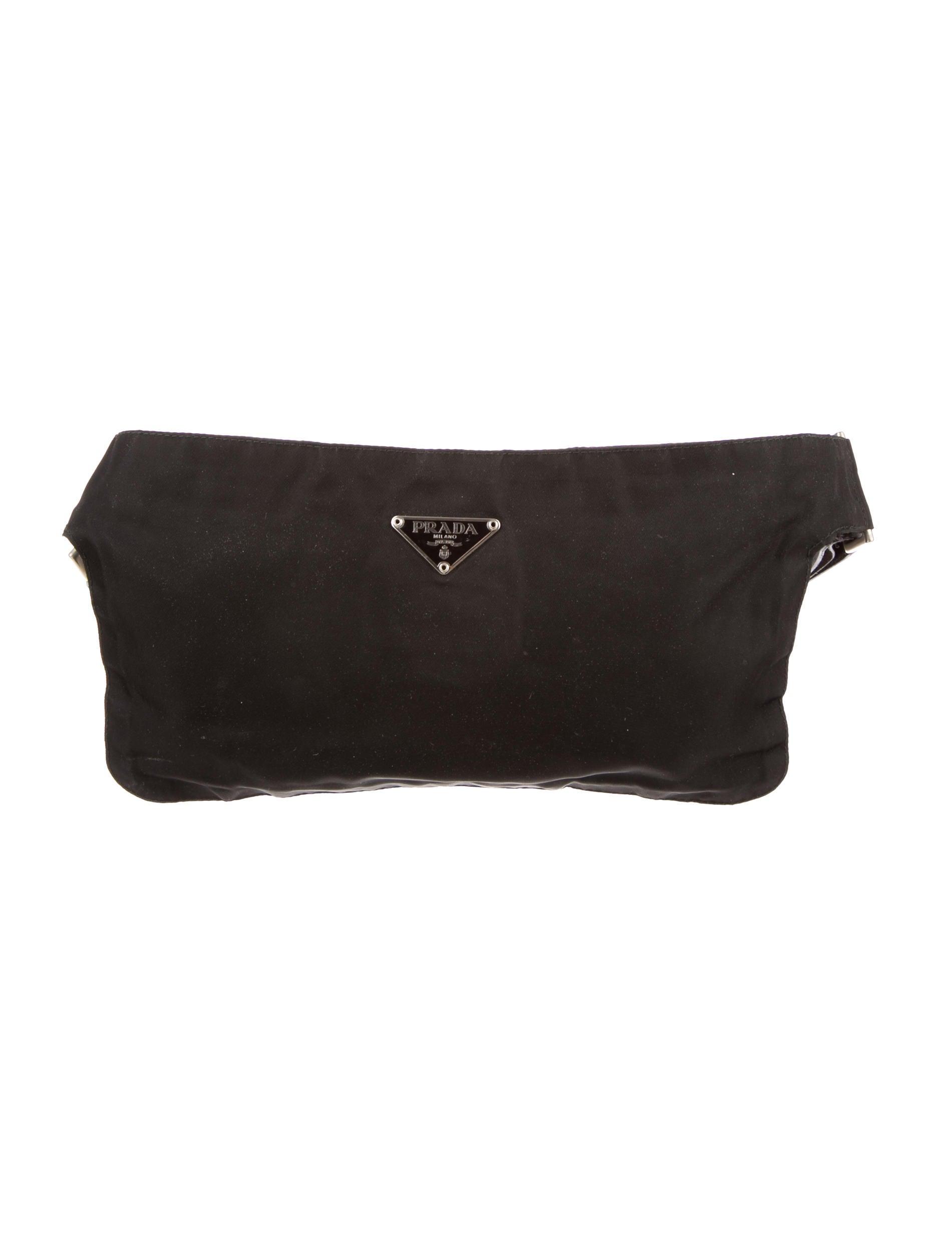 replica prada - prada tessuto waist pouch, prada handbags sale usa
