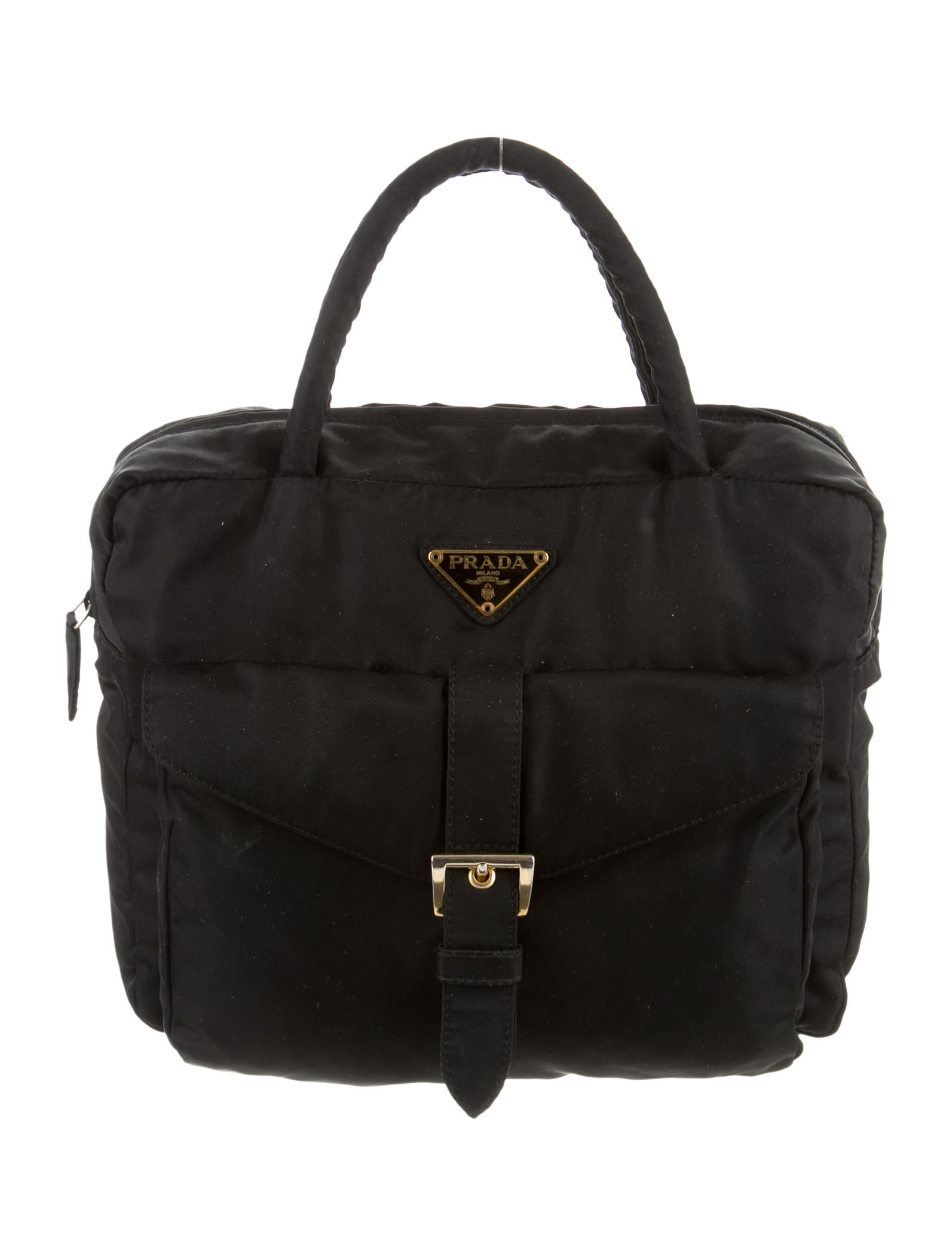 Prada Tessuto Handle Bag - Handbags - PRA83636 | The RealReal