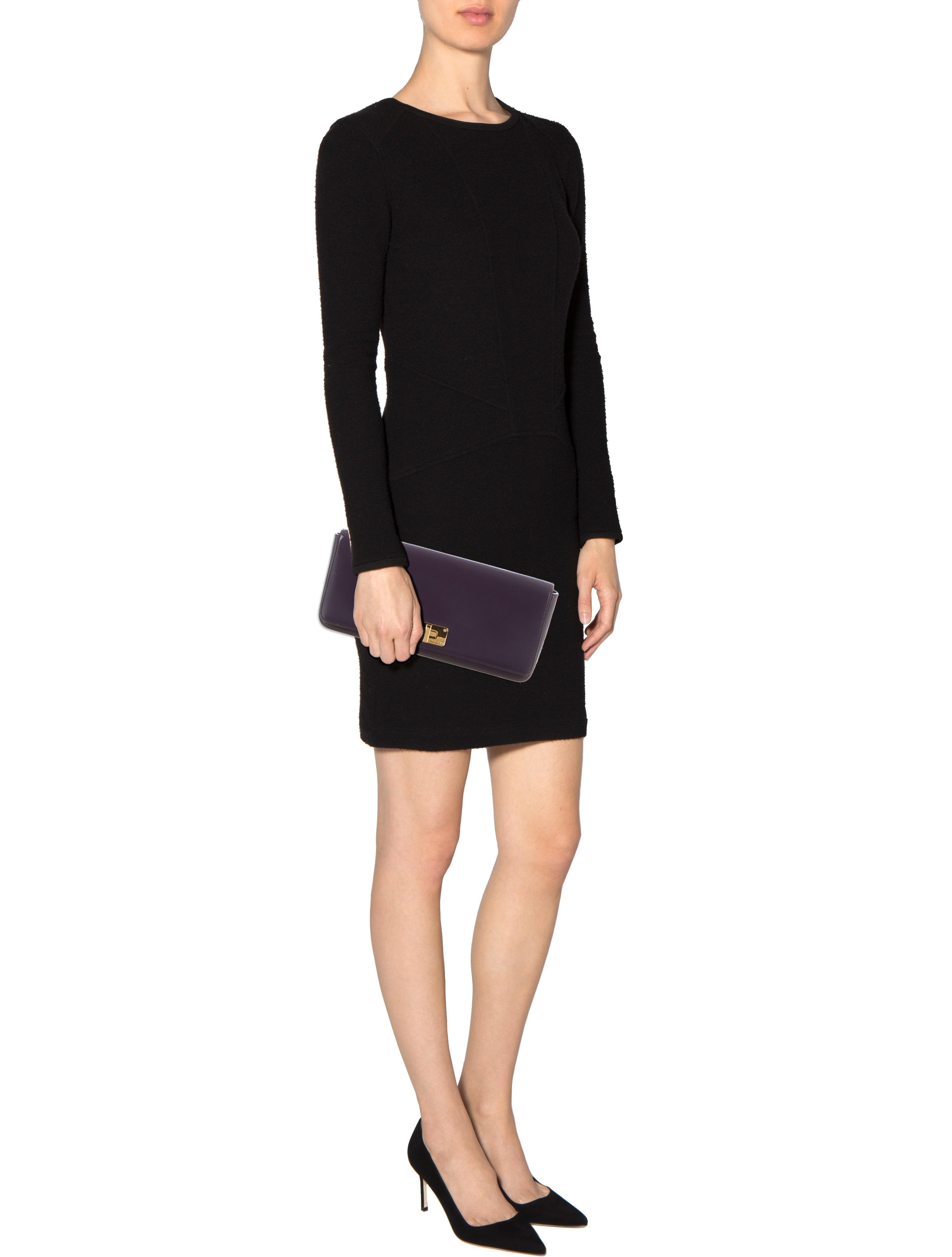 Prada Saffiano Vernice Clutch - Handbags - PRA84069 | The RealReal