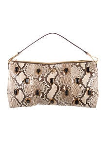 C��line Laser Cut Fringe Clutch - Handbags - CEL31140 | The RealReal