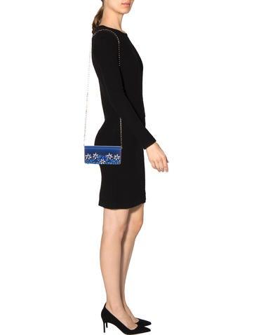 Prada Raso Ricamo Clutch - Handbags - PRA84622 | The RealReal