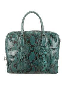 prada wallets for women - prada python drawstring tote, white prada bag