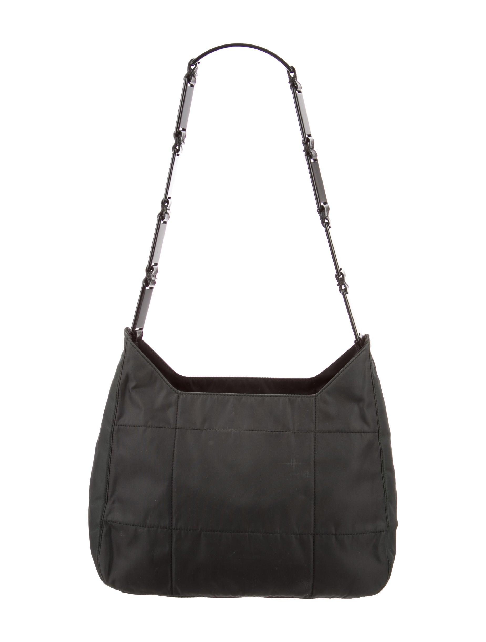 prada canada price - Prada Tessuto Quilted Shoulder Bag - Handbags - PRA85525 | The ...