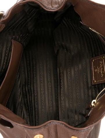 prada saffiano clutch wallet - Prada Sacca 2 Manici Bag - Handbags - PRA86268 | The RealReal