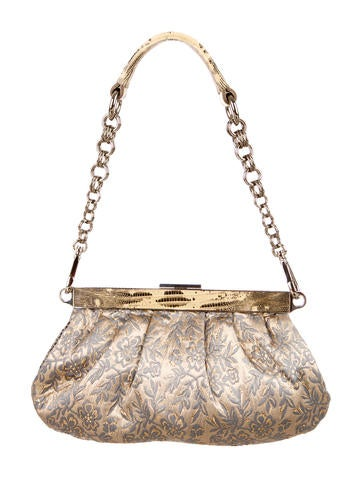Prada Brocade Shoulder Bag - Handbags - PRA87667 | The RealReal