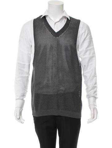 Prada Silk Pullover Knit Vest None